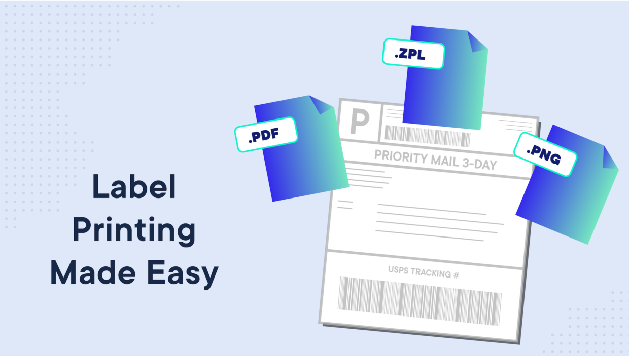 Label Printing Made Easy with 3 Interchangeable File Formats